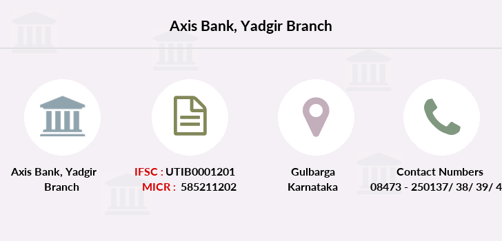 Axis-bank Yadgir branch