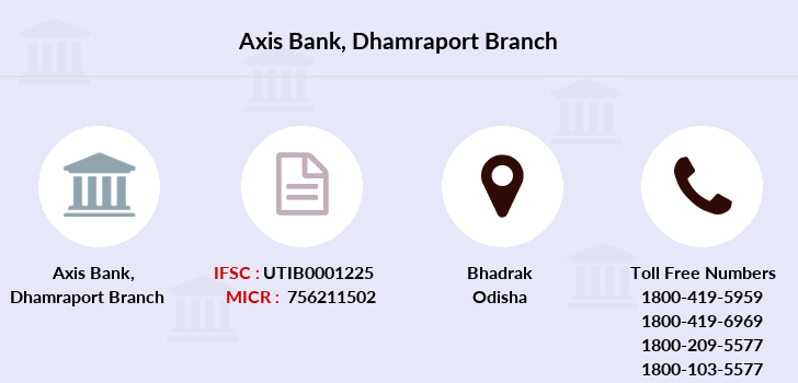 Axis-bank Dhamraport branch