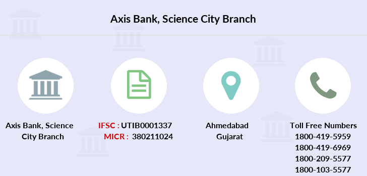 Axis-bank Science-city branch