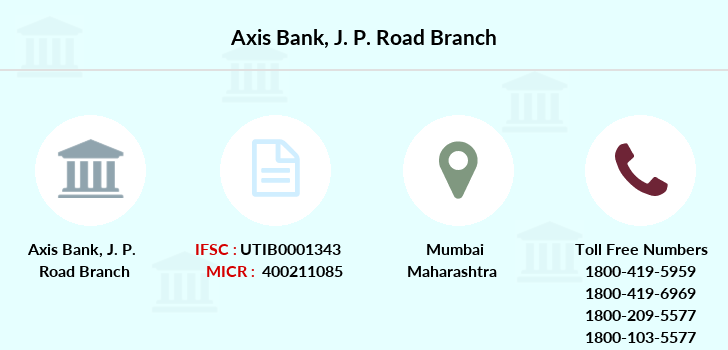Axis-bank J-p-road branch