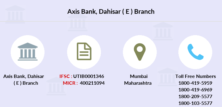 Axis-bank Dahisar-e branch