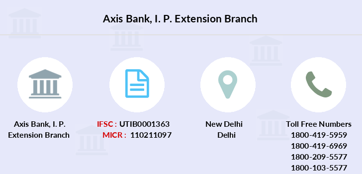 Axis-bank I-p-extension branch