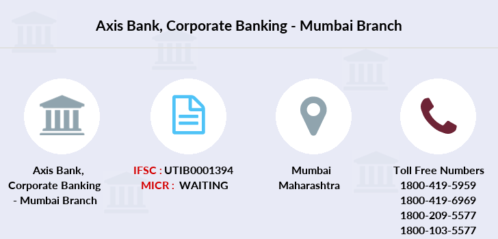 Axis-bank Corporate-banking-mumbai branch