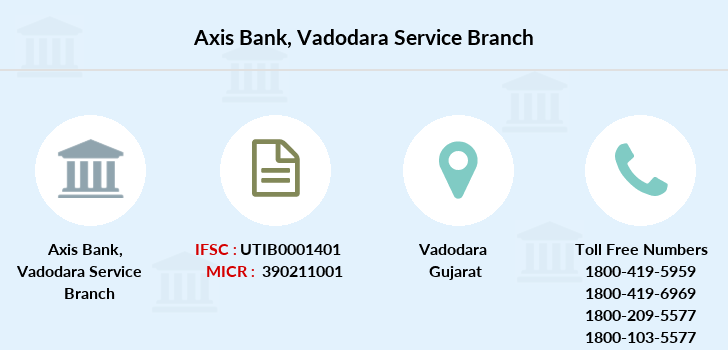 Axis-bank Vadodara-service branch