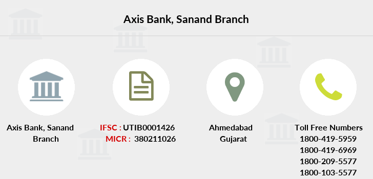 Axis-bank Sanand branch
