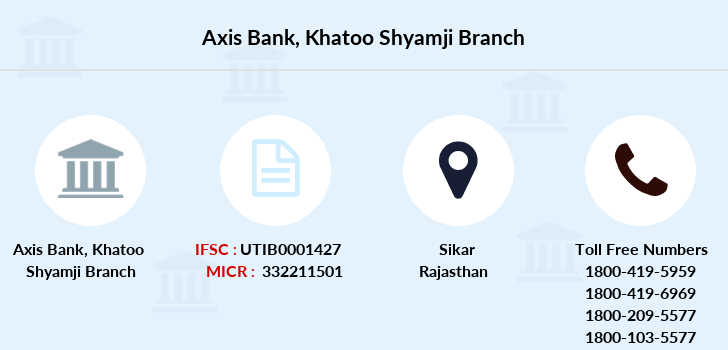 Axis-bank Khatoo-shyamji branch