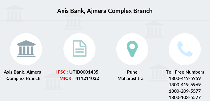 Axis-bank Ajmera-complex branch