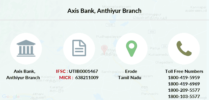 Axis-bank Anthiyur branch