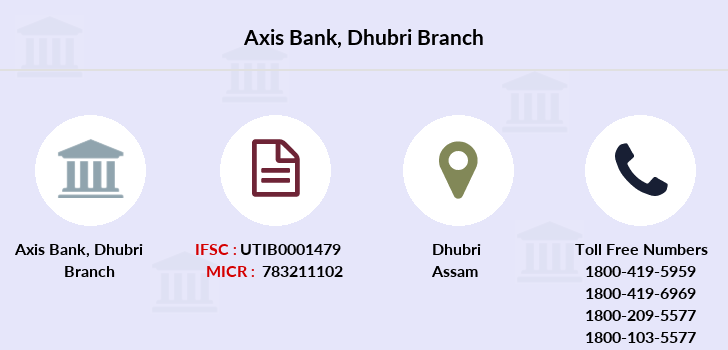 Axis-bank Dhubri branch