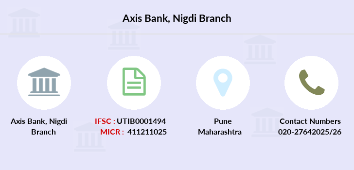 Axis-bank Nigdi branch