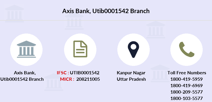 Axis-bank Utib0001542 branch