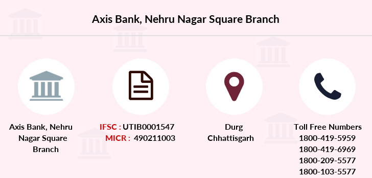 Axis-bank Nehru-nagar-square branch