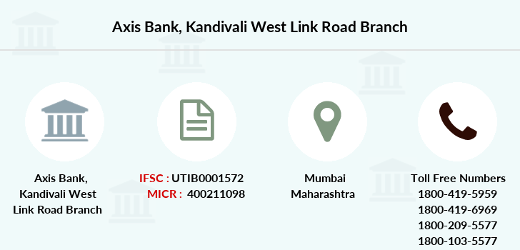 Axis-bank Kandivali-west-link-road branch