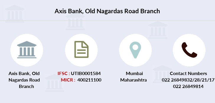 Axis-bank Old-nagardas-road branch