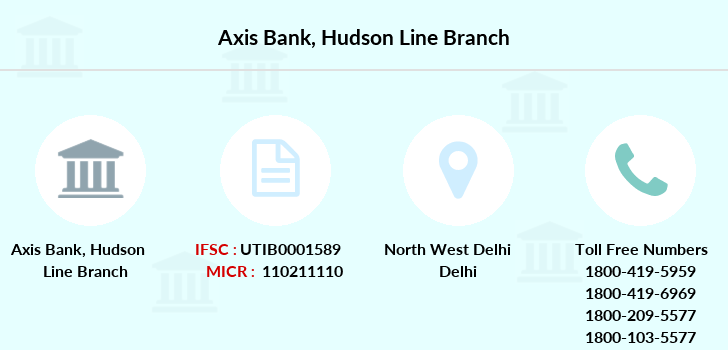 Axis-bank Hudson-line branch