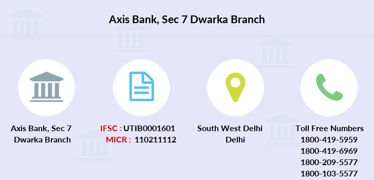 Axis-bank Sec-7-dwarka branch