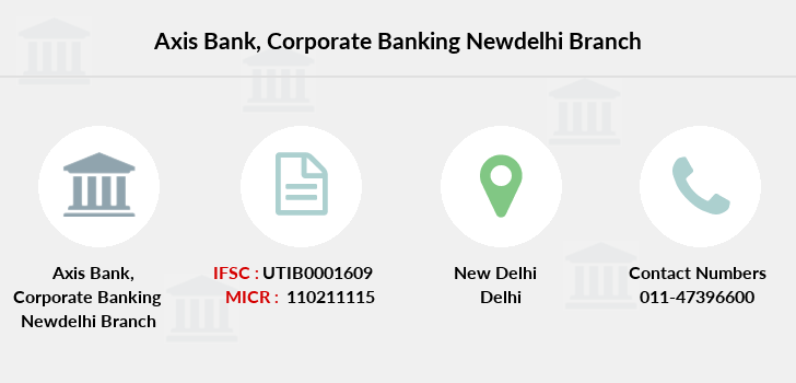 Axis-bank Corporate-banking-newdelhi branch