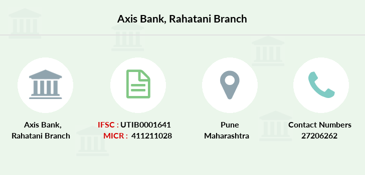 Axis-bank Rahatani branch