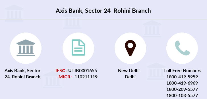 Axis-bank Sector-24-rohini branch