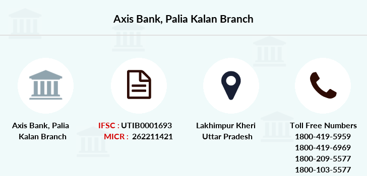 Axis-bank Palia-kalan branch
