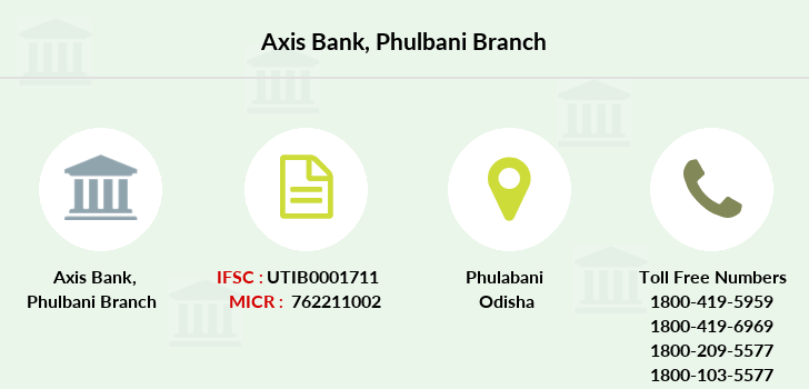 Axis-bank Phulbani branch