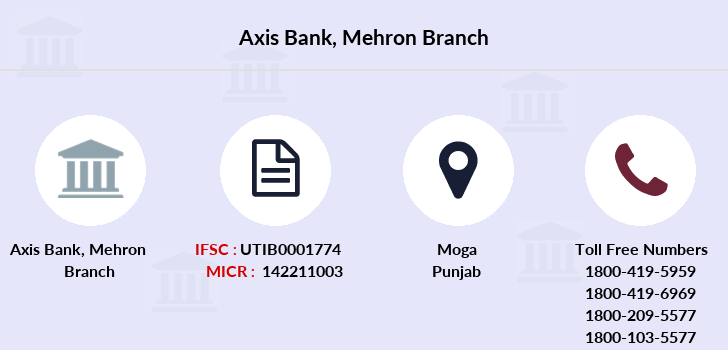 Axis-bank Mehron branch