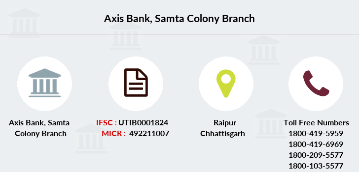 Axis-bank Samta-colony branch