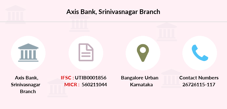 Axis-bank Srinivasnagar branch