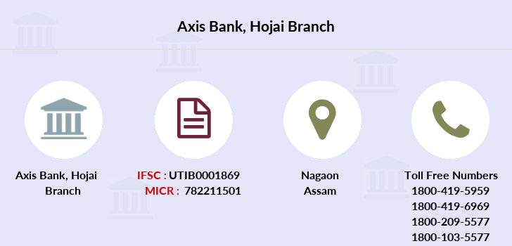 Axis-bank Hojai branch