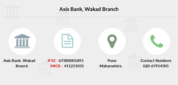 Axis-bank Wakad branch