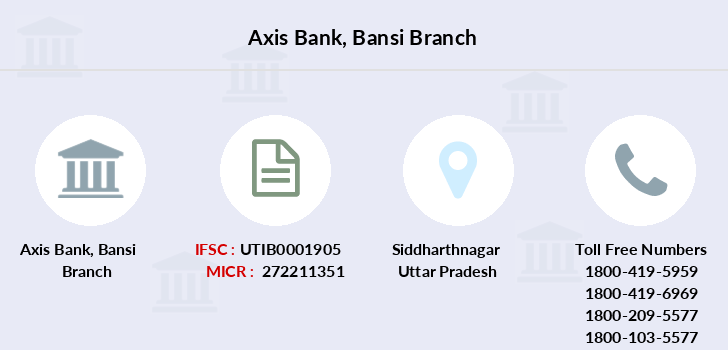 Axis-bank Bansi branch