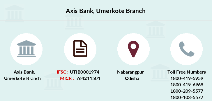 Axis-bank Umerkote branch