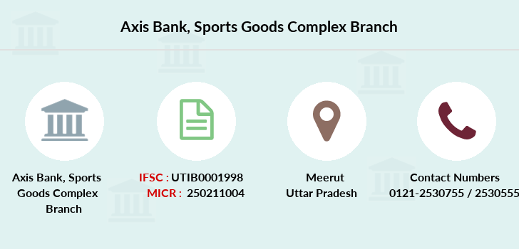 Axis-bank Sports-goods-complex branch