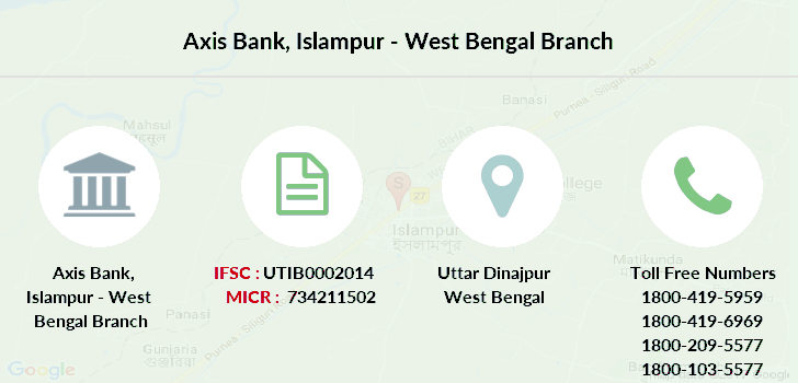 Axis-bank Islampur-west-bengal branch