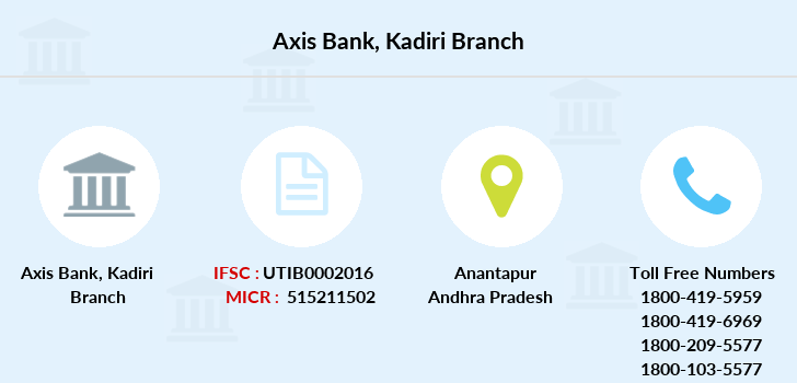 Axis-bank Kadiri branch