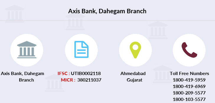 Axis-bank Dahegam branch