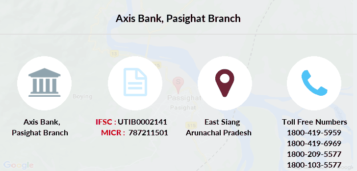 Axis-bank Pasighat branch