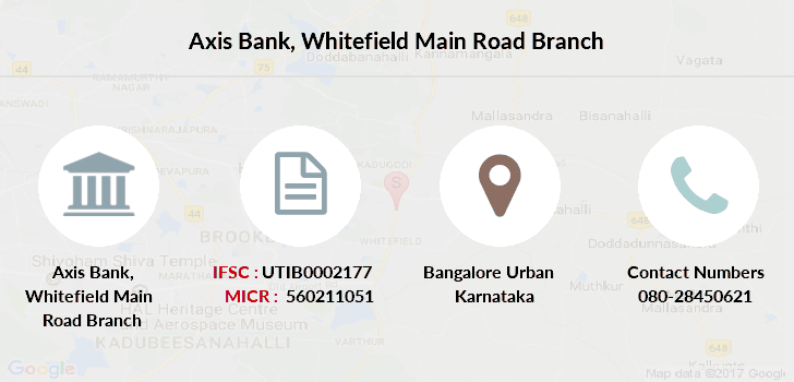 Axis-bank Whitefield-main-road branch