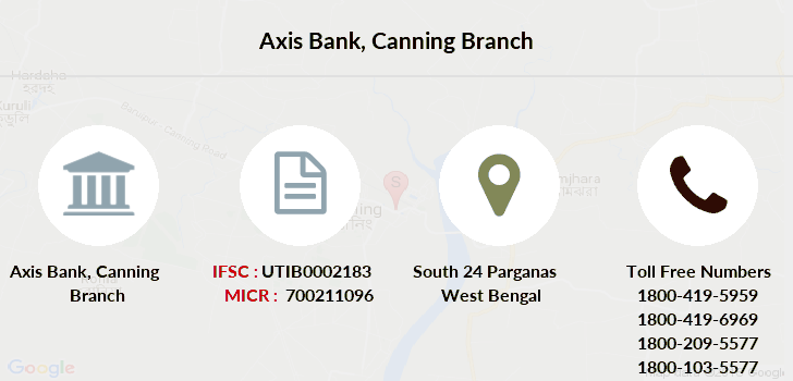 Axis-bank Canning branch