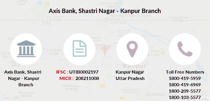 Axis-bank Shastri-nagar-kanpur branch