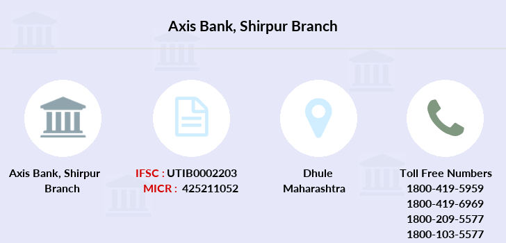 Axis-bank Shirpur branch