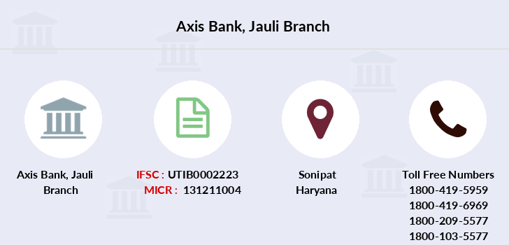Axis-bank Jauli branch