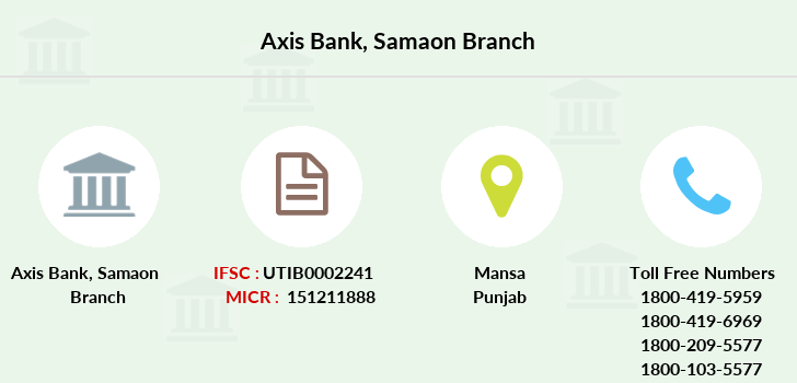 Axis-bank Samaon branch
