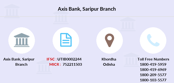 Axis-bank Saripur branch
