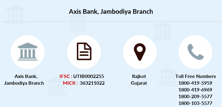 Axis-bank Jambodiya branch
