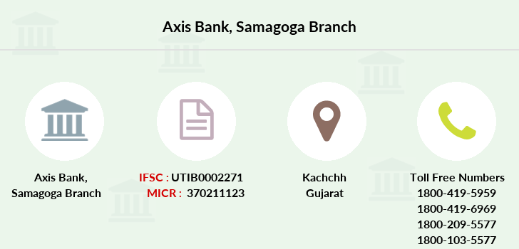 Axis-bank Samagoga branch