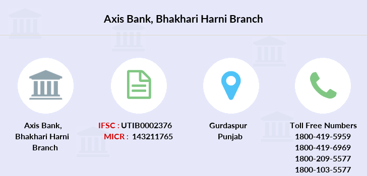 Axis-bank Bhakhari-harni branch
