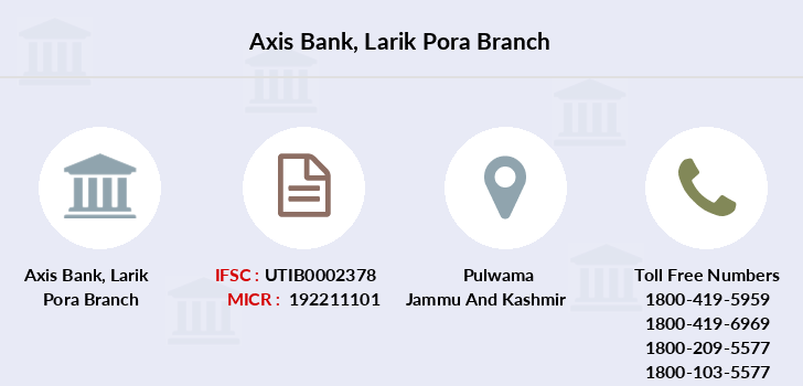 Axis-bank Larik-pora branch