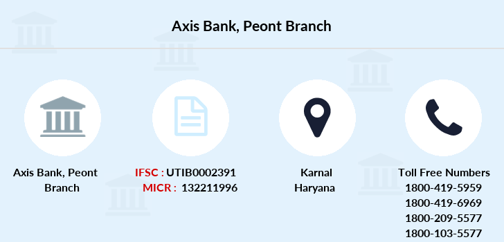 Axis-bank Peont branch