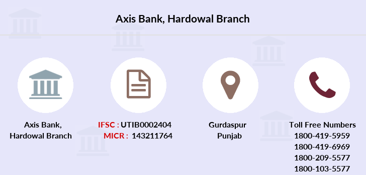 Axis-bank Hardowal branch